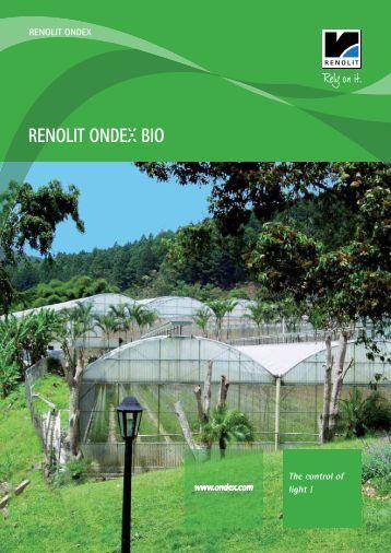 RENOLIT ONDEX Bio 2 - Catalogue - ondex