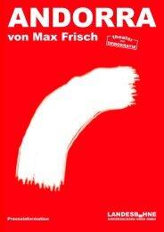 von Max Frisch - Landesbühne Niedersachsen Nord