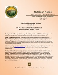 Outreach Notice - Job Opportunities