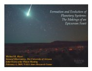 Formation and Evolution of Planetary Systems: The Makings of an ...