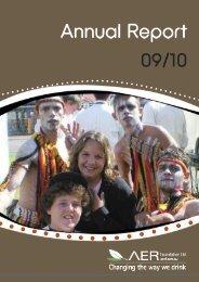 09-10 Annual Report - FARE