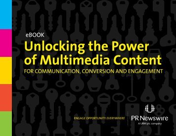 Unlocking the Power of Multimedia Content - PR Newswire