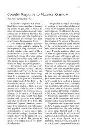 Shamdasani CR2Krasnow p21-24 - CG Jung Institute of New York