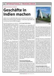 Geschäfte in Indien machen - German Centre Delhi.Gurgaon