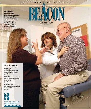 Beacon-Summer 2005 - Beebe Medical Center