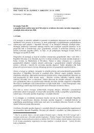 Strategija Vlade RS o gospodarskem sodelovanju med Slovenijo in ...