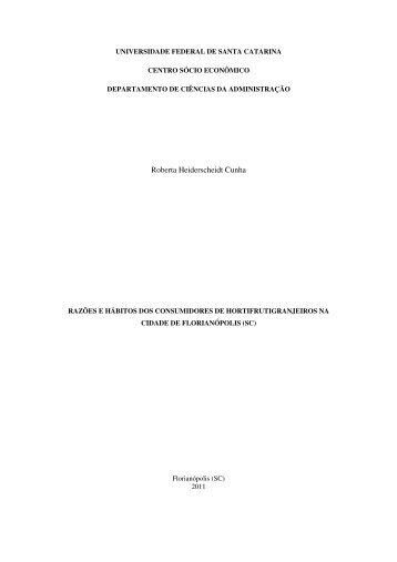1 Roberta Heiderscheidt Cunha - Universidade Federal de Santa ...