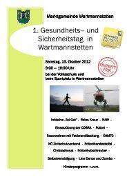 Wartmannstetten - Niederösterreichischer Zivilschutzverband
