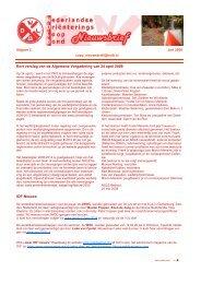 Nieuwsbrief #2 2008 - Nederlandse Oriënteringsloop Bond