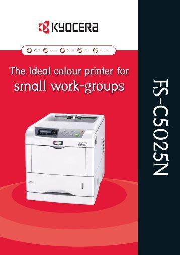 FS-C5025N - The Copier Shop