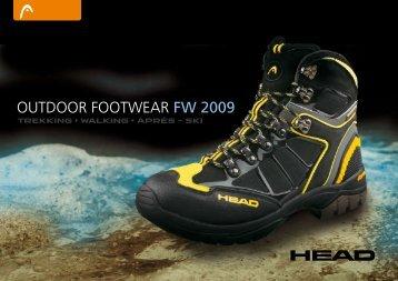 outdoor footwear FW 2009 - Headtrekking.com