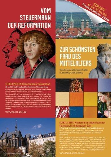 2 Sonderausstellungen von Altenburg und Naumburg