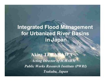 Prof. Akira Terakawa - WHYCOS