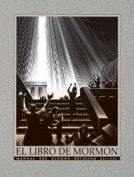 El Libro de Mormón Manual del alumno Religión 121-122