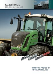 Fendt 800 Vario 819 - 828 - Kakkis Agrifuture Products LTD