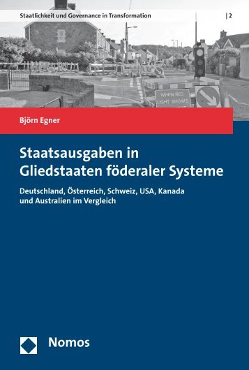 Staatsausgaben in Gliedstaaten föderaler Systeme - Nomos