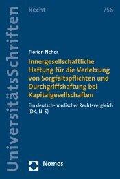 (DK, N, S) Florian Neher Florian Neher - Nomos