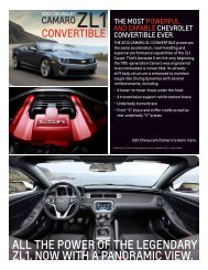 ZL1ConvertibleSpecSheet - Camaro Scotty