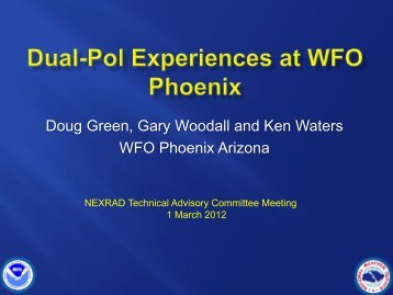 WFO Phoenix Ops The Dust Storms of 2011, March 2012