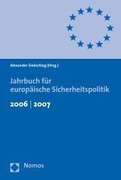 Jahrbuch für europäische Sicherheitspolitik 2006 | 2007 - Nomos