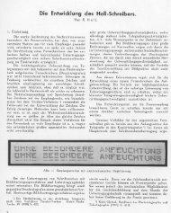 Die Entwicklung des Hell-Schreibers. - Nonstop Systems
