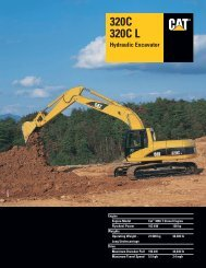 Specalog for 320C 320C L Hydraulic Excavator ... - Kelly Tractor
