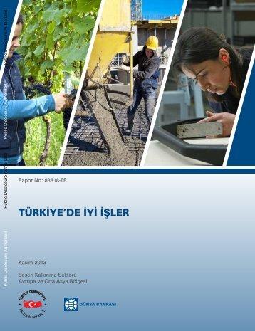 Türkiye'de İyi İşler