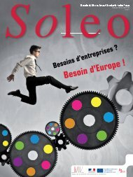 Soleo 31 - décembre 2012 - Agence Europe-Education-Formation ...