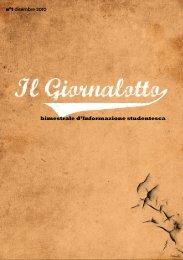 n°1 dicembre 2010 bimestrale d'Informazione studentesca - l. lotto