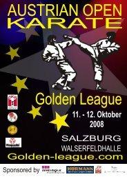 AUSTRIAN OPEN Golden League - Salzburger Karateverband