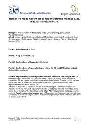 Referat fra TR-møde den 23. maj 2011 - Foreningen af Radiografer i ...