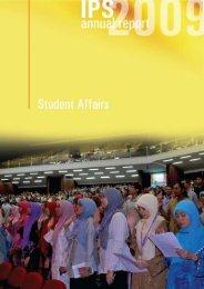 IPS Annual Report 2009 - Institute of Graduate Studies - USM