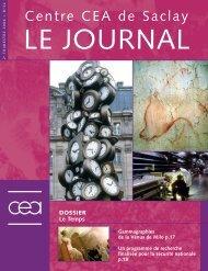 Journal de Saclay n°32 - CEA Saclay