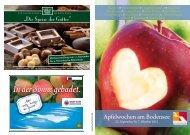 Flyer Apfelwochen am Bodensee 2012 - bitte klicken - Nonnenhorn