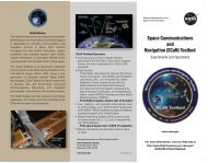 (SCaN) Testbed - Space Flight Systems - NASA