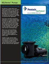 EQ Series™ Pumps - Cheap Pool Products