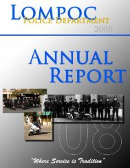 annual report - the City of Lompoc!