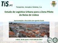 Estudo de Logística Urbana para a Zona Piloto da ... - VectWeb SM