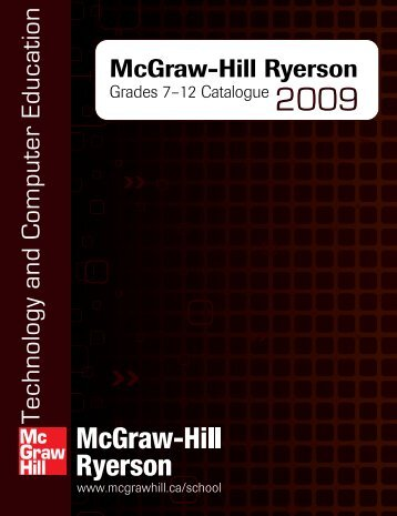 12 Catalogue - McGraw-Hill Ryerson
