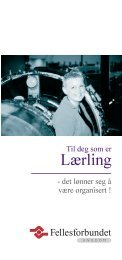 Lærling - Fellesforbundet