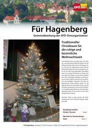 Für Hagenberg - Dezember 2012 - SPÖ Oberösterreich