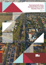 Passenger rail infrastructure noise policy.pdf - Department of Transport