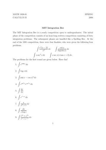 calculus oaper Page 3 of 3 – 3 – 3 [maximum mark: 9] (a) given that f (x) = lnx , use the mean value theorem to show that, for 0 a b, b a b b a b a a.