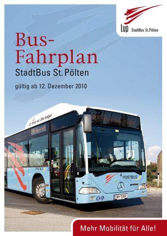 Bus- Fahrplan - St. Pölten