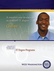 Business Degree Programs - WGU Washington - Western
