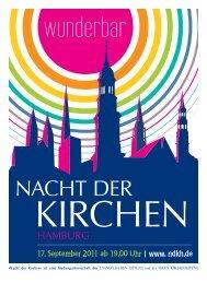 Nacht der Kirchen - Nordelbische Kirchenzeitung