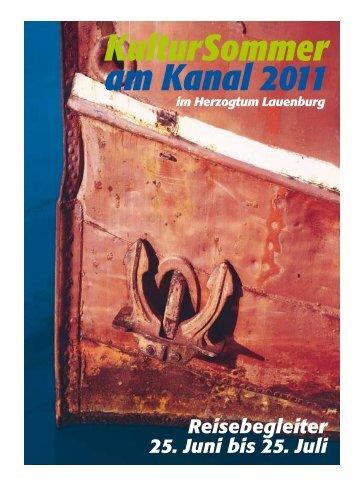 KulturSommer am Kanal 2011 - norden theaterproduktion Hamburg