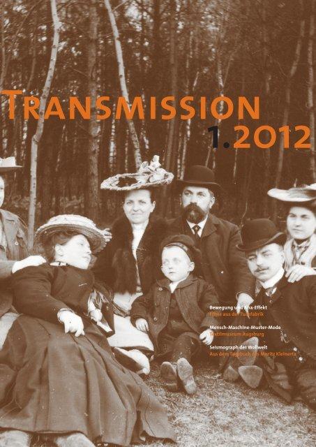 Transmission 1-2012 als Download...