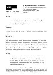 Lebenszeichen - WDR 5