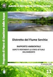 aspetti pertinenti lo stato attuale dell'ambiente - Autorità di Bacino ...